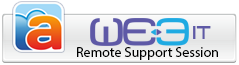 WE3 IT Remote Support Session